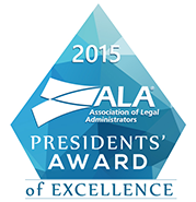 ALA 2015 Presidents Award